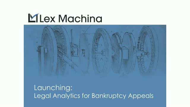 Launching Legal Analytics for District Court Bankruptcy Appeals