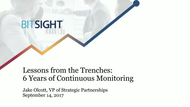Lessons from the Trenches: 6 Years of Continuous Monitoring