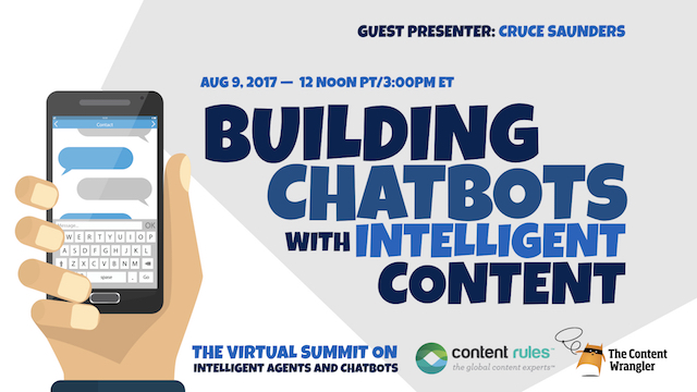 Building Chatbots with Intelligent Content