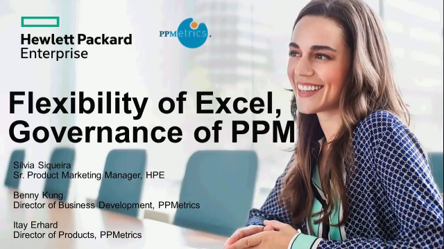 Combining Flexibility of Excel with the Governance of PPM