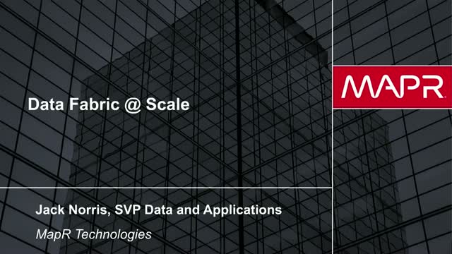 Data Fabric @ Scale: Breaking Through Legacy Data Architectures