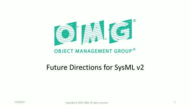 Future Directions for SysML v2
