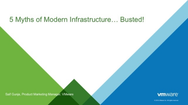 5 Myths of Modern Infrastructure... Busted!