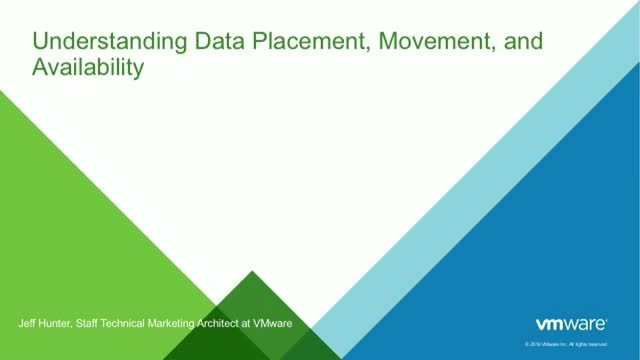 vSAN & HCI: Understanding Data Placement, Movement & Availability