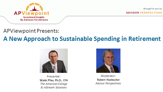 A New Approach to Sustainable Spending in Retirement