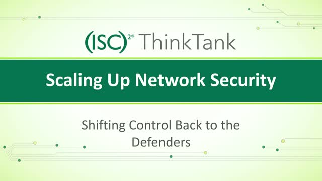 Scaling Up Network Security Shifting Control Back To The