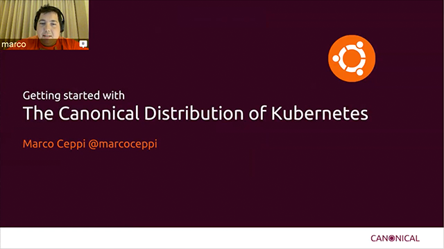 Getting started with the Canonical Distribution of Kubernetes