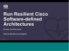 DEMO: Run Resilient Cisco Software-Defined Network Architectures with CA Tech