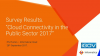 iGov Cloud Connectivity in the Public Sector Survey Results