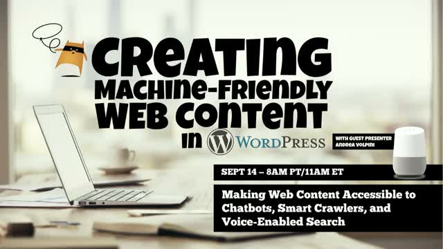 Creating Machine-Friendly Content in WordPress: Making Web Content Accessible