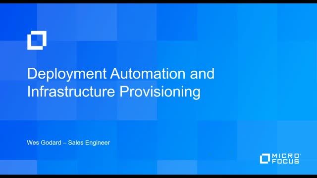 Deployment Automation & Infrastructure Provisioning in 30 minutes