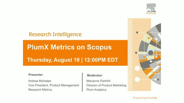 How PlumX Metrics on Scopus help tell the story of your research