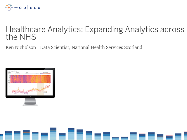 Healthcare Analytics: Expanding Data Visualisation across the NHS
