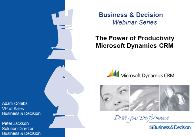 B&D Microsoft Dynamics CRM Online Promotional Announcement