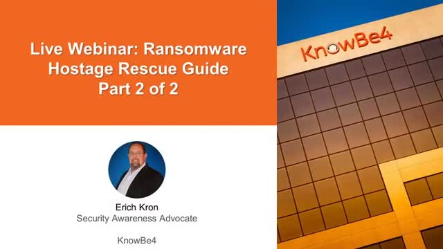 Ransomware Hostage Rescue Guide: Part 2 of 2