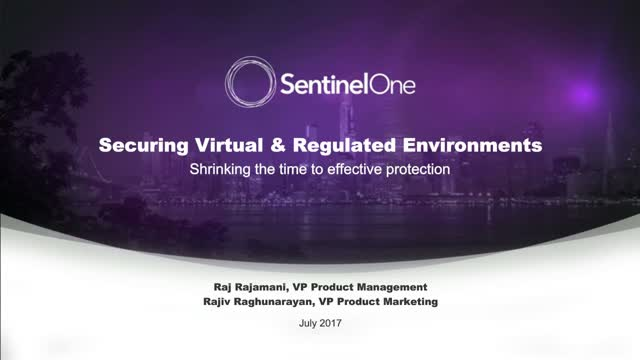 A Closer Look at SentinelOne