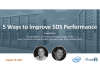 Five Ways to Improve Software-Defined Storage Performance