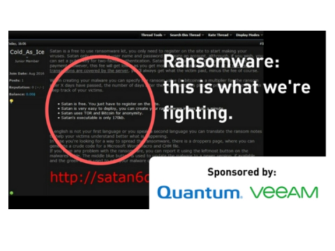 Ransomware attacks continue... do you have a backup plan?