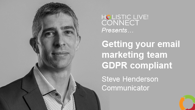 Getting your email marketing team GDPR compliant