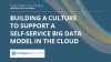 Building a Culture to Support a Big Data Model in the Cloud