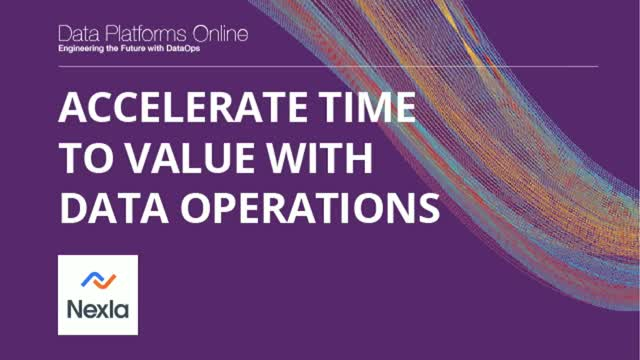 Accelerate Time to Value with Data Operations