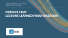 Fireside Chat: Lessons Learned from Facebook