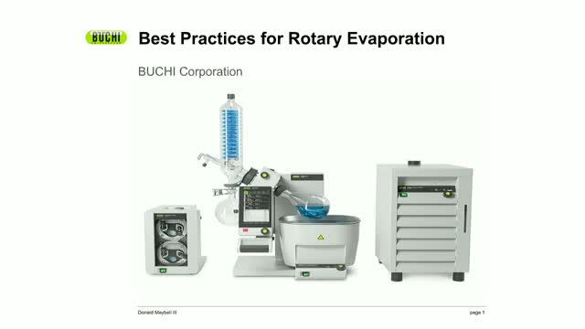 Best Practices in Laboratory Rotary Evaporation