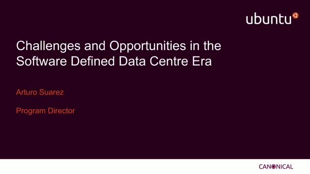 Challenges and Opportunities in the Software Defined Data Centre Era