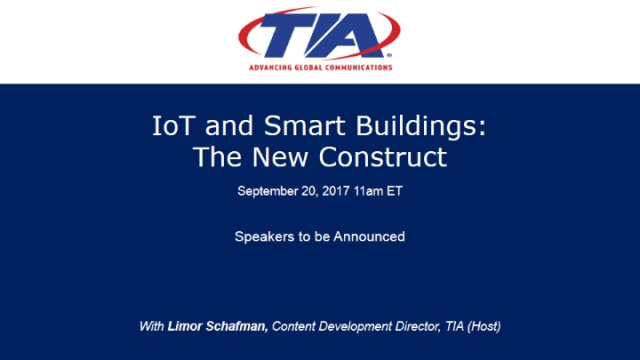 IoT and Smart Buildings: The New Construct
