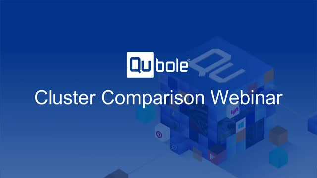 How to Choose the Right Cluster for Your Workload - A Cluster Comparison