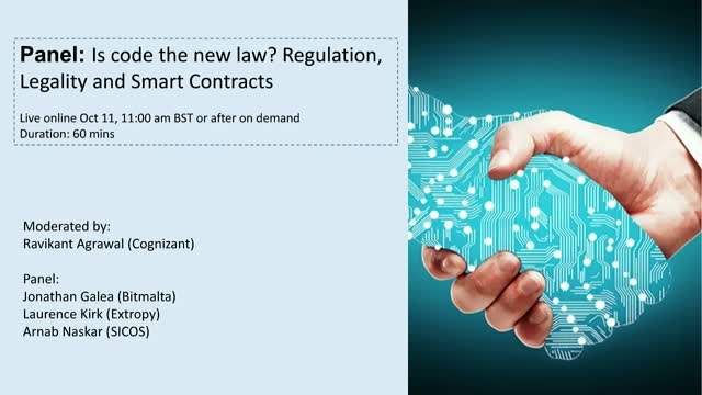 Is code the new law? Regulation, Legality and Smart Contracts