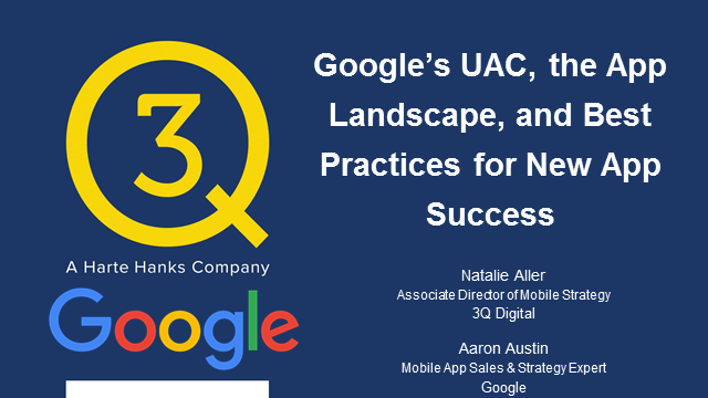 Google's UAC, the App Landscape, and Best Practices for New App Success
