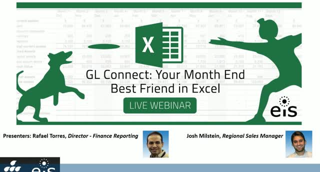Your Month End Best Friend in Excel: GL Connect