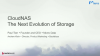 CloudNAS - the next evolution of storage
