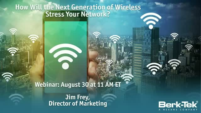 The Profound Effect Wireless will Have on Your Network Infrastructure