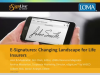 Webcast: E-Signatures: Changing Landscape for Life Insurers