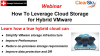 How to Leverage Cloud Storage for Hybrid VMware