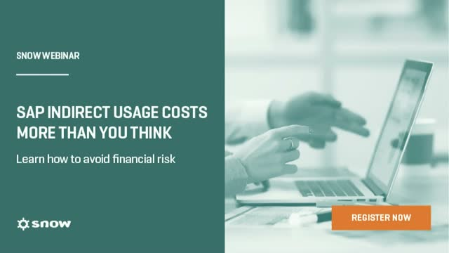 SAP Indirect Usage costs more than you think. Learn how to avoid financial risk.
