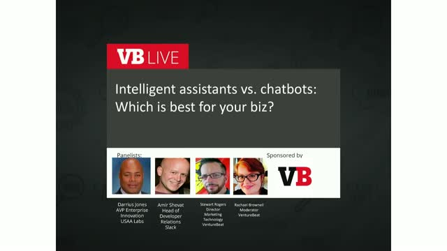 Intelligent assistants vs. chatbots: Which is best for your biz?