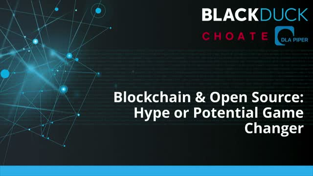 Blockchain & Open Source: Hype or Potential Game Changer?