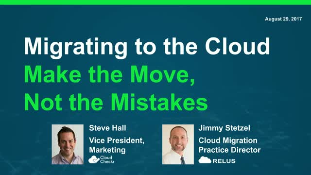 Back to School: Migrating to the Cloud