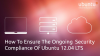 How To Ensure The Ongoing Security Compliance Of Ubuntu 12.04 LTS