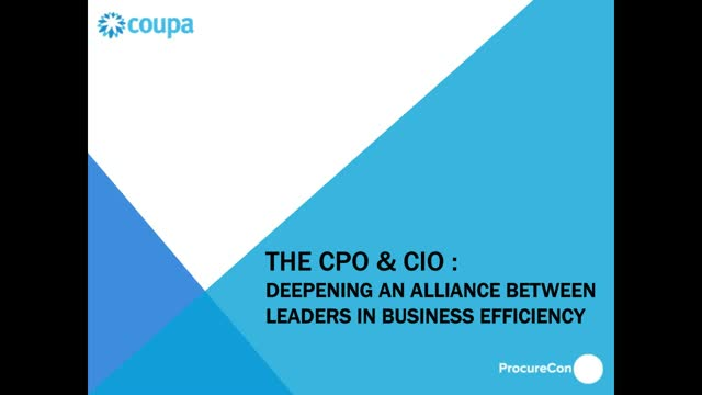 Making the Case for Digital Transformation: How CIO's and CPO's can push forward