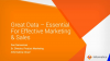 Data-Driven Digital Transformation - The Key to Effective Marketing & Analytics