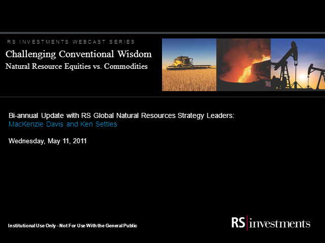 Challenging Conventions: Natural Resource Equities vs Commodities