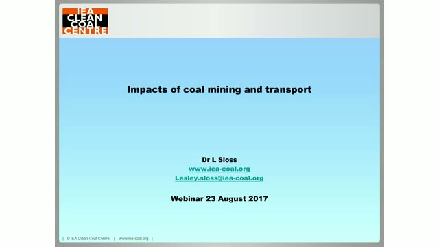 environmental impacts of coal mining pdf
