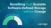 Benefiting from Scalable Software-Defined Storage without Change