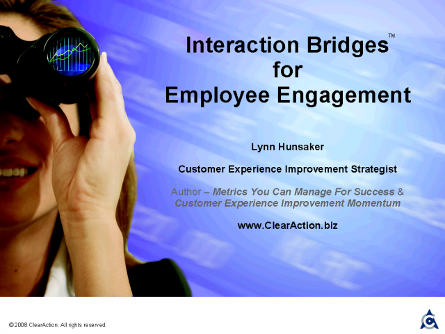 Interaction Bridges for Employee Engagement
