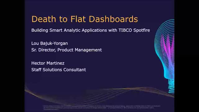 Death to flat dashboards: 7 Easy Steps to Build Smart Analytical Applications