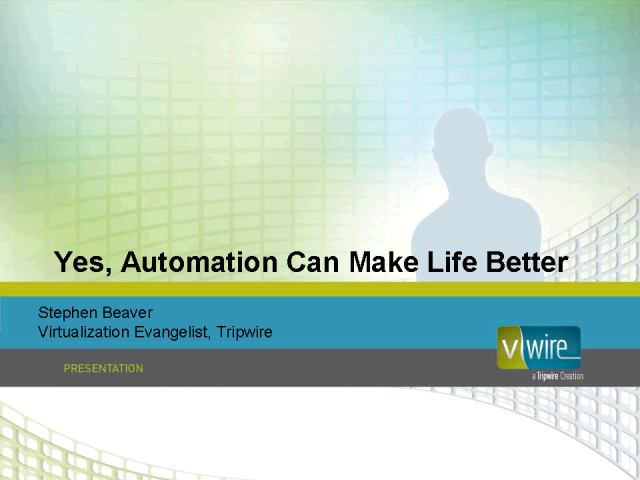 Automation Can Make Life Better